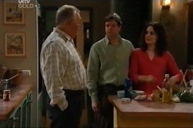 Harold Bishop, David Bishop, Liljana Bishop in Neighbours Episode 4423