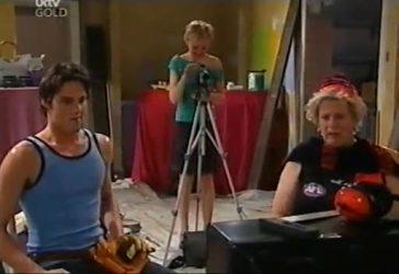 Jack Scully, Sindi Watts, Valda Sheergold in Neighbours Episode 4434