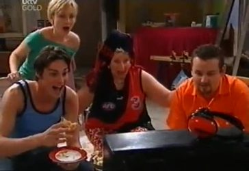Jack Scully, Sindi Watts, Valda Sheergold, Toadie Rebecchi in Neighbours Episode 4434
