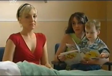 Sindi Watts, Libby Kennedy, Ben Kirk in Neighbours Episode 4486