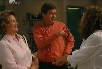 Lyn Scully, David Bishop, Liljana Bishop in Neighbours Episode 4491