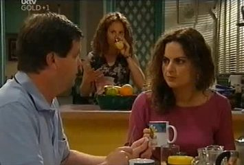 David Bishop, Serena Bishop, Liljana Bishop in Neighbours Episode 4491