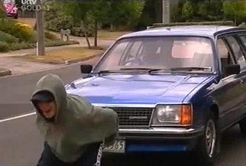 Stingray Timmins, David Bishop in Neighbours Episode 4491