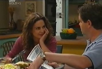 Liljana Bishop, David Bishop in Neighbours Episode 4491