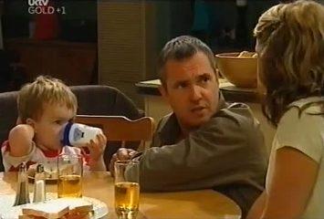 Ben Kirk, Karl Kennedy, Izzy Hoyland in Neighbours Episode 4491