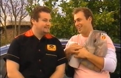 Toadie Rebecchi, Stuart Parker in Neighbours Episode 4609
