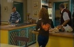 David Bishop, Liljana Bishop, Harold Bishop in Neighbours Episode 4609