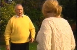 Harold Bishop, Janelle Timmins in Neighbours Episode 4610