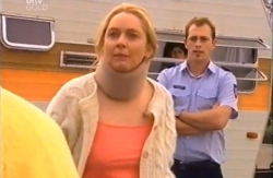 Janelle Timmins, Stingray Timmins, Stuart Parker in Neighbours Episode 4610