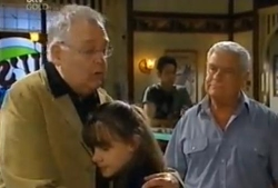 Harold Bishop, Summer Hoyland, Lou Carpenter in Neighbours Episode 4610
