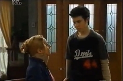 Janelle Timmins, Stingray Timmins in Neighbours Episode 4611