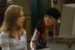 Lana Crawford, Sky Mangel in Neighbours Episode 4611
