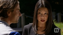 Brad Willis, Tracey Wong in Neighbours Episode 6890