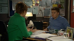 Susan Kennedy, Callum Rebecchi in Neighbours Episode 6890