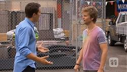 Josh Willis, Daniel Robinson in Neighbours Episode 6890