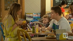 Sonya Mitchell, Nell Rebecchi, Callum Jones in Neighbours Episode 6890