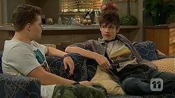 Callum Rebecchi, Bailey Turner in Neighbours Episode 6890