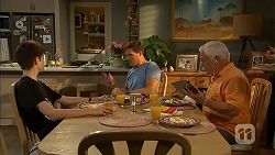 Bailey Turner, Matt Turner, Lou Carpenter in Neighbours Episode 6892