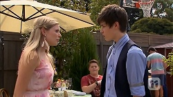 Amber Turner, Callum Rebecchi, Bailey Turner, Chris Pappas in Neighbours Episode 6892