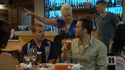 Toadie Rebecchi, Sheila Canning, James Bunkum in Neighbours Episode 6893