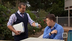 Toadie Rebecchi, Callum Jones in Neighbours Episode 6895