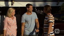 Lauren Turner, Matt Turner, Brad Willis in Neighbours Episode 6896