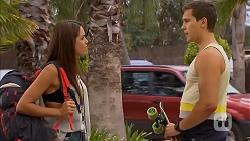 Paige Novak, Josh Willis in Neighbours Episode 6897