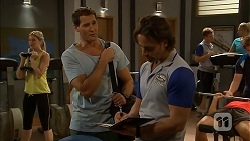 Amber Turner, Matt Turner, Brad Willis in Neighbours Episode 6897