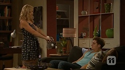 Georgia Brooks, Kyle Canning in Neighbours Episode 6897