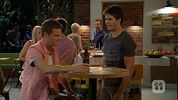Will Dampier, Chris Pappas in Neighbours Episode 6897