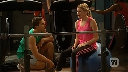 Josh Willis, Amber Turner in Neighbours Episode 6898