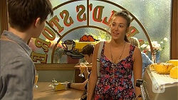 Bailey Turner, Karina Purcell in Neighbours Episode 6898