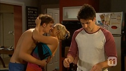 Kyle Canning, Georgia Brooks, Chris Pappas in Neighbours Episode 6898