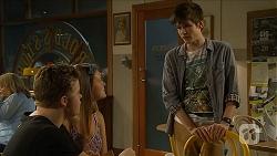 Callum Rebecchi, Josie Lamb, Bailey Turner in Neighbours Episode 6899