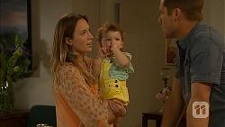 Sonya Mitchell, Nell Rebecchi, Mark Brennan in Neighbours Episode 6900