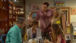 Karl Kennedy, Susan Kennedy, Kyle Canning, Georgia Brooks, Holly Hoyland in Neighbours Episode 6900