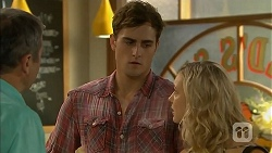Karl Kennedy, Kyle Canning, Georgia Brooks in Neighbours Episode 6900