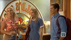 Lauren Turner, Amber Turner, Josh Willis in Neighbours Episode 6901