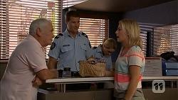 Lou Carpenter, Matt Turner, Lauren Turner in Neighbours Episode 6902