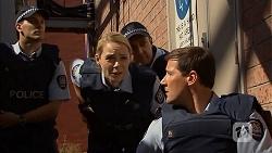 Snr. Const. Kelly Merolli, Matt Turner in Neighbours Episode 6902