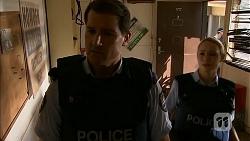 Matt Turner, Snr. Const. Kelly Merolli in Neighbours Episode 6902