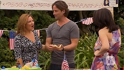 Terese Willis, Brad Willis, Libby Kennedy in Neighbours Episode 6904
