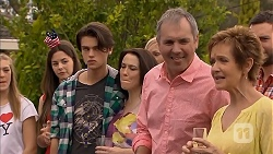 Ben Kirk, Libby Kennedy, Karl Kennedy, Susan Kennedy in Neighbours Episode 6904