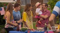 Josie Lamb, Callum Jones, Sonya Mitchell, Nell Rebecchi, Toadie Rebecchi in Neighbours Episode 6904