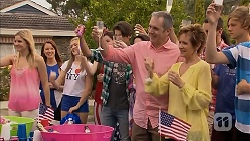 Amber Turner, Ben Kirk, Karl Kennedy, Susan Kennedy in Neighbours Episode 6904