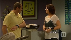 Toadie Rebecchi, Naomi Canning in Neighbours Episode 6905