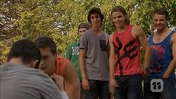 Bailey Turner, Josh Willis, Jayden Warley in Neighbours Episode 6905