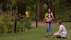 Imogen Willis, Daniel Robinson in Neighbours Episode 6906