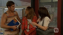 Kyle Canning, Sonya Mitchell, Libby Kennedy in Neighbours Episode 6907