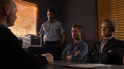 Victor Cleary, Mark Brennan, Paul Robinson in Neighbours Episode 6907